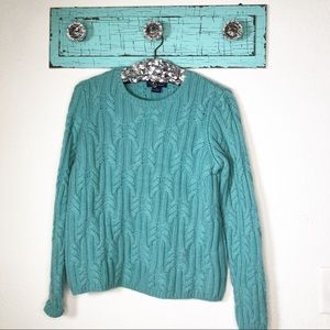 Charter Club 2 ply cashmere sweater size M